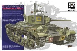 Plastic kits tanks AF35178