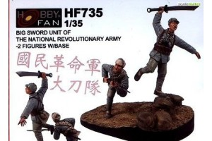 Resin Kit figures HF735
