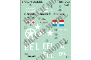 Decals Brach Models BMD7203