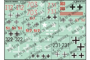 Decals Brach Models BMD7205